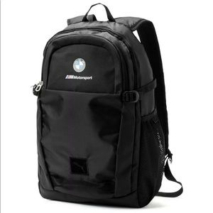 Puma Bags - BMW Motorsport backpack 🎒 black puma